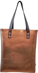 PU Leather (Metallic) Tote Bag