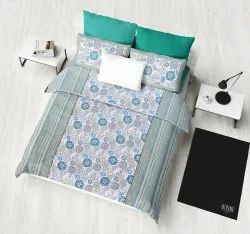 Printed Cotton Bed Sheet for Double Bed