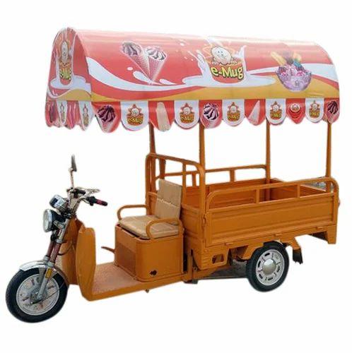 Soham Electric Rickshaw Food Cart Rs 115000 Piece Soham