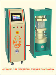 Automatic Compression Testing Machine - Rang 0-3000kn