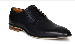 Liberty Mens Shoes Healers Black Lacing
