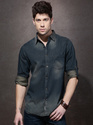 Full Sleeve Denim Mens Shirt