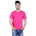 Men Plain Round Neck T- Shirt