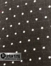 Star Print Shirting Fabric