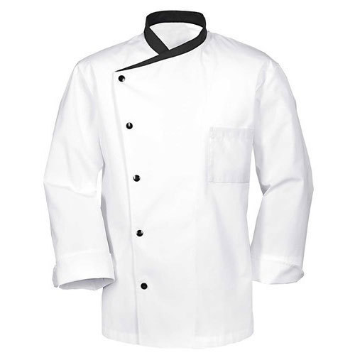 White Hotel Cotton Chef Coat, Packaging Type: Packet