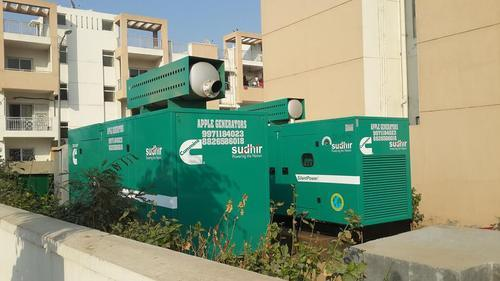 Generator Rental Services in Faridabad, New Industrial Town by Apple