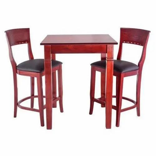 Wooden Classic Design Bar Counter Chairs And Table Set Rs 16000 Pair Id 21772939788