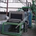 Railway axle box cleaning machine