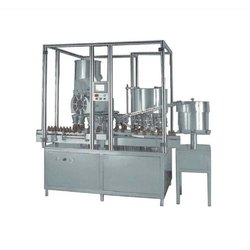 Automatic Rotary Powder Filling And Capping Machine