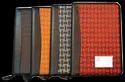 Hawk - I Zipper Leather Portfolio File Folder, Packaging Size: 50 Pieces
