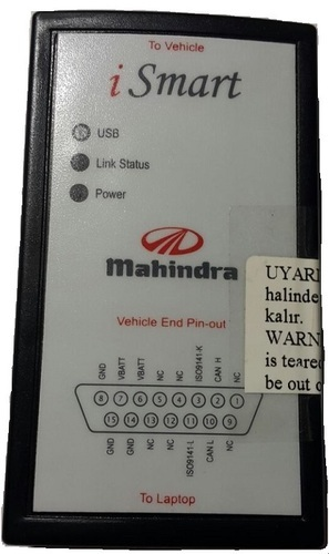 Mahindra I Smart Scanner, Ecu Diagnostics Engine Scanner | Vikas
