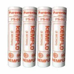 Microfiber Kemflo PP Spun Cartridge, 5-micron, Micron filter