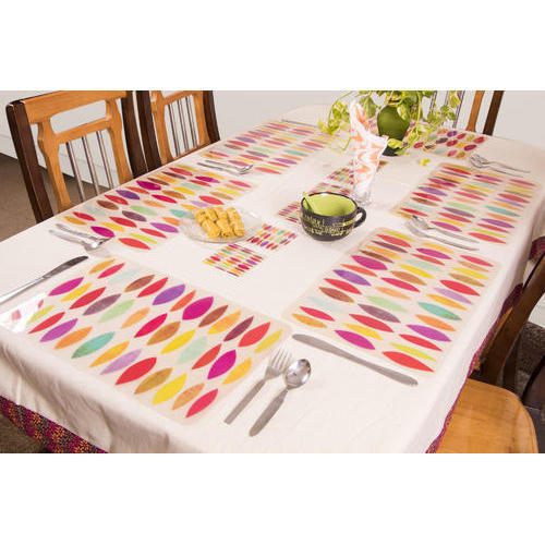 Available In Different Colors Designer Dining Table Mats