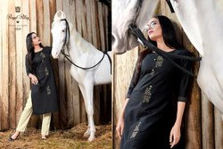 New Rayon Kurti With Pant for Ladies Wear