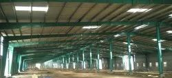 Steel Frame Structures Factory Construction Service