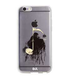 Daily Objects Death Note Silicone Clear Case For iPhone 6