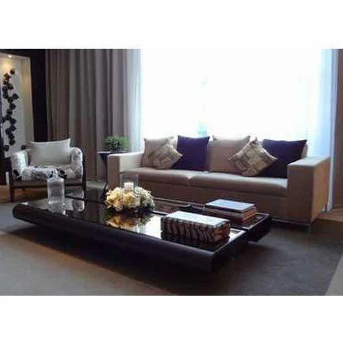 Wooden Contemporary Sofa Set, कंटेम्पररी सोफा - Saaz ...