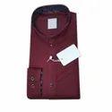 Kids Casual Plain Cotton Shirt