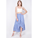 Blue Surplus Ladies Skirt