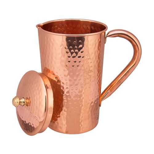 Hammered Copper Water Jug