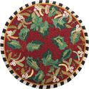 Red Himalaya Handicraft Beaded Placemats, Size: 38x38 Cm