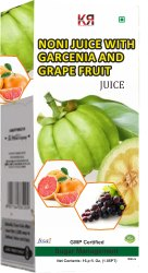Noni Juice With Garcinia Grape Fruit