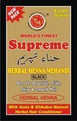 Supreme Herbal Black Henna Mehandi