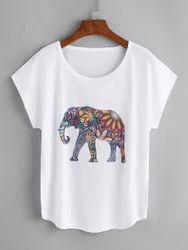 Elephant Printed Tee