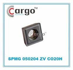 CargoCarbide(TM) Carbide steel SPMG 050204 ZV CO20H, For Industrial