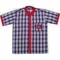 Boys Half Sleeve School Shirt