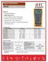 HTC DM-87 VSD Digital Multimeter