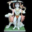 Marble Bheruji Statue