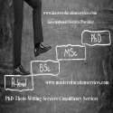 M.Phil Thesis Writing Services Consultancy Service Provider