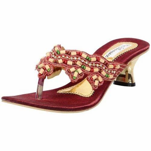 25c14eef99ee Ethnoware Ethnic Women Embroidered Sandals