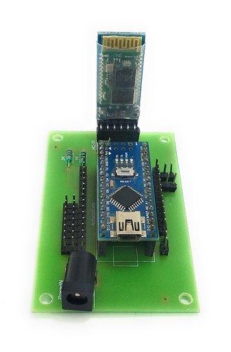 Spider / Quadruped Robot Arduino Bluetooth Controlled