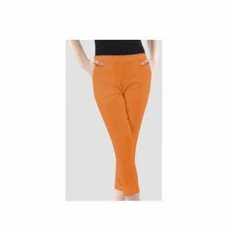 Orange Lamlam Lycra Pants
