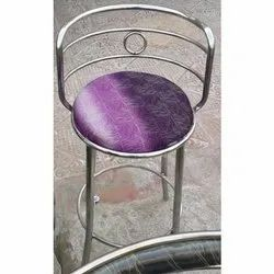 AS Stainless Steel Round Chair