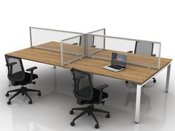 Office Table Privacy Divider