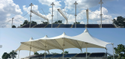 New Arts Pyramid Awning Structures