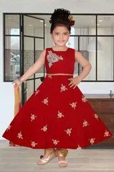 Designer Kids Anarkali Suit