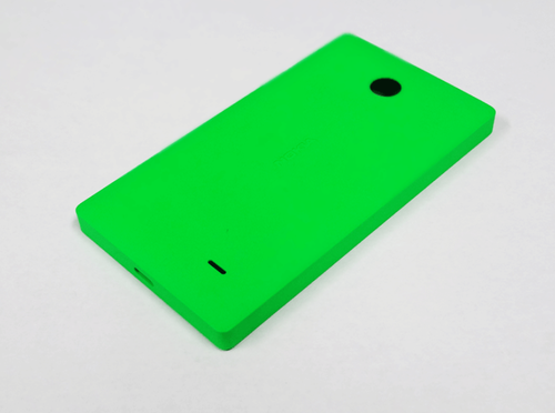 free shipping c36c6 66f9f Nokia X Green Back Battery Panel Housing Cover Shell