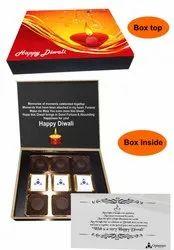 Custom Logo Branding Chocolate, Packaging Type: Box
