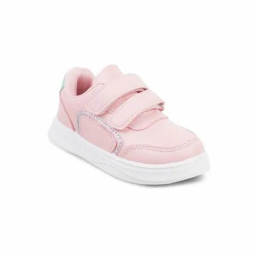Kittens Party Wear Kids Pink Sneakers