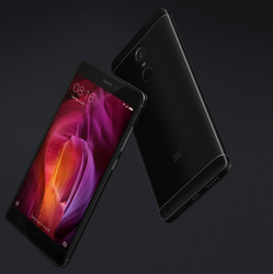 Black Mi Redmi Note 4 Mobile
