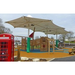 Play Ground PVC Tensile Structure