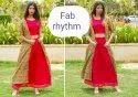 Fab Rhythm Cotton 3pcs Kurti