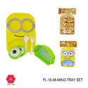 Kids Plate Minion Yellow and Blue Food Serving Plate for Kids-PL-10