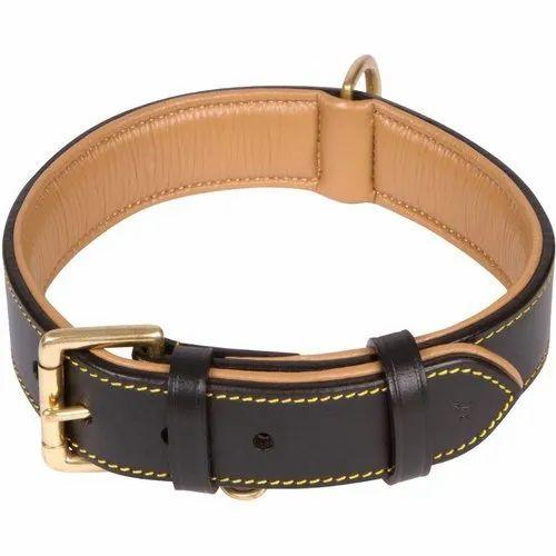 Leather Plain Pet Collars