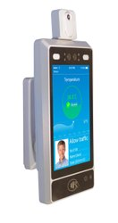 Telpo TPS 980T Temperature Measurement Terminal With Face Recognition and Wall Mounted Stand