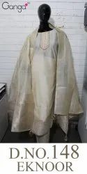Ganga Eknoor D No 148 Chanderi Silk Suits